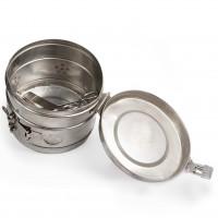 Steriliser Drum, Stainless Steel, 390 diax140mm
